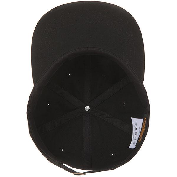 Бейсболка с прямым козырьком Yupoong 6245cm Flat Brim Black