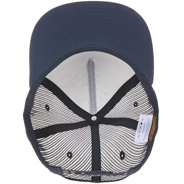 Бейсболка с сеткой Flexfit Yupoong 6005ff No Foam Navy