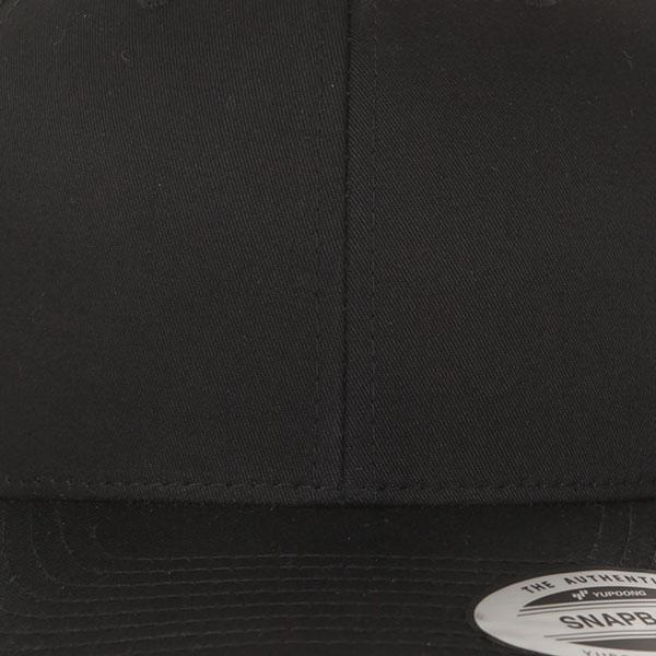 Бейсболка с сеткой Yupoong 6606 Black
