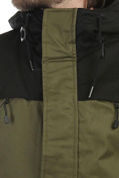 Куртка парка Footwork Urban Fishtail Army Green/Black