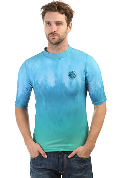 Гидрофутболка Rip Curl Corpo Faded Uv Tee Aqua
