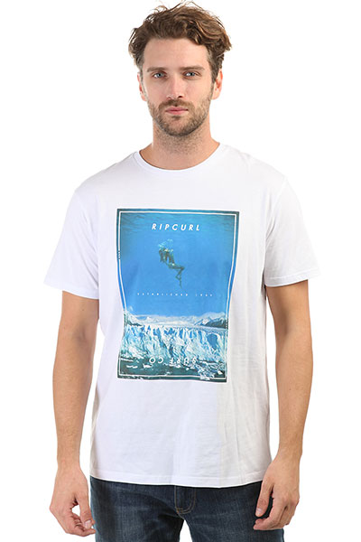 Футболка Rip Curl Good Day Bad Day Tee White/Blue