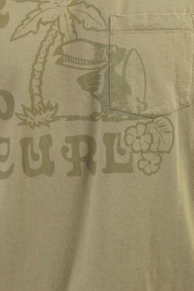 Футболка Rip Curl Toucanos Pocket Tee Mermaid