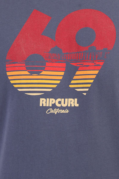 Футболка Rip Curl Calif Tee Blue Indigo