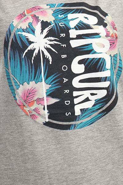 Футболка женская Rip Curl Hibiscus Beach Cement Marle
