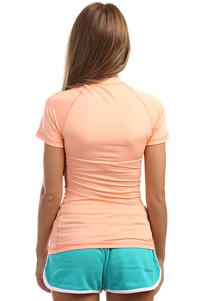 Гидрофутболка женская Rip Curl Sunny Rays Relaxed Peach