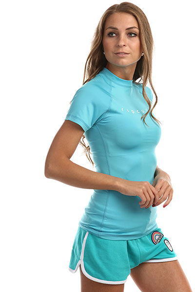 Гидрофутболка женская Rip Curl Sunny Rays Relaxed Light Blue