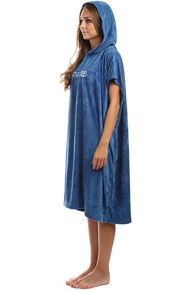 Пончо женское Rip Curl L n s Hooded Towel Infinito