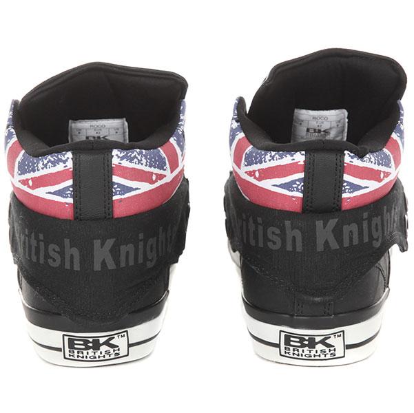 Кеды высокие British Knights RОCО Черные