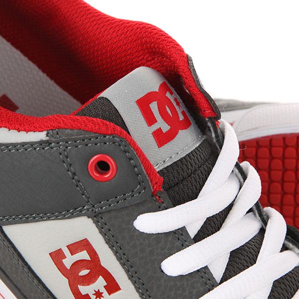 Кеды низкие детские DC Pure B Grey/Grey/Red