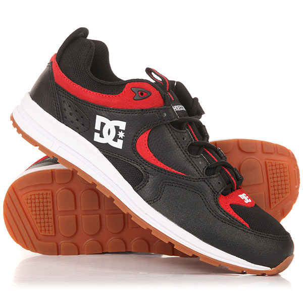 Кроссовки DC Kalis Lite Black/Athletic Red