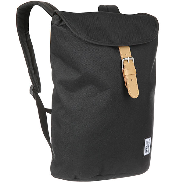 Рюкзак городской The Pack Society Society Small Backpack Solid Black-01