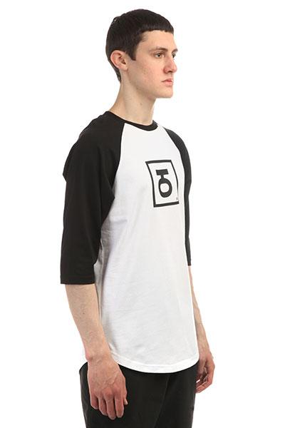 Футболка Юнион 3/4 Logo Black/White