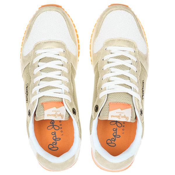 Кроссовки женские Pepe Jeans London Gable Золотые