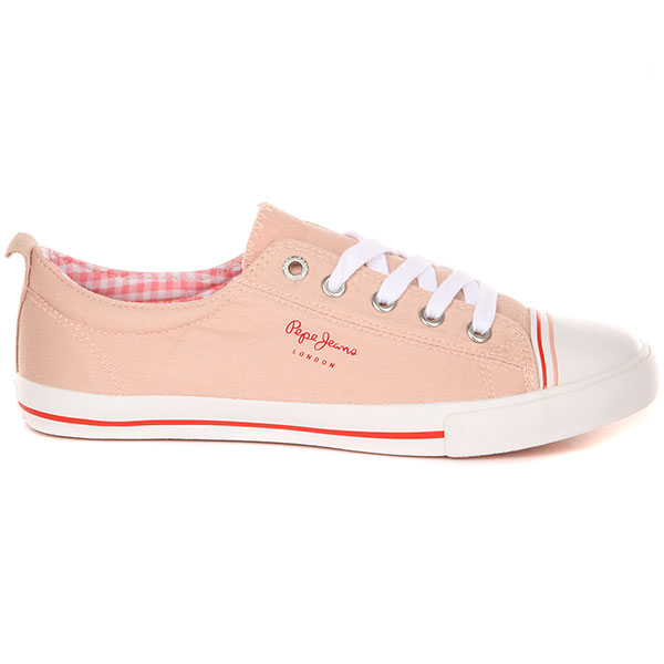 Кеды женские Pepe Jeans London Gery Bass Розовые