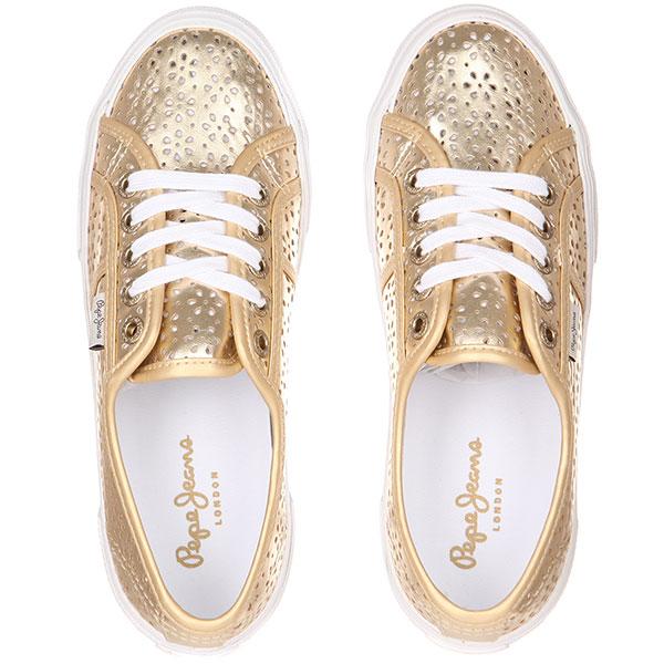 Кеды женские Pepe Jeans London Aberlady Daisy Золотые