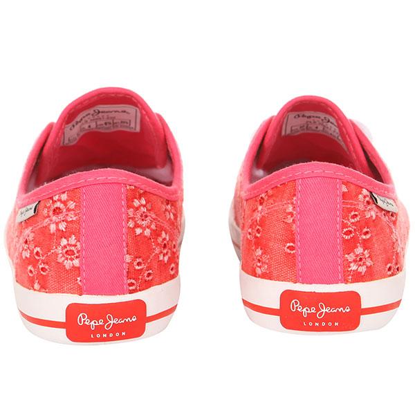Кеды женские Pepe Jeans London Gery Anglaise Красные