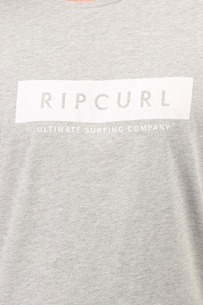 Футболка Rip Curl Undertow Logo Cement Marle