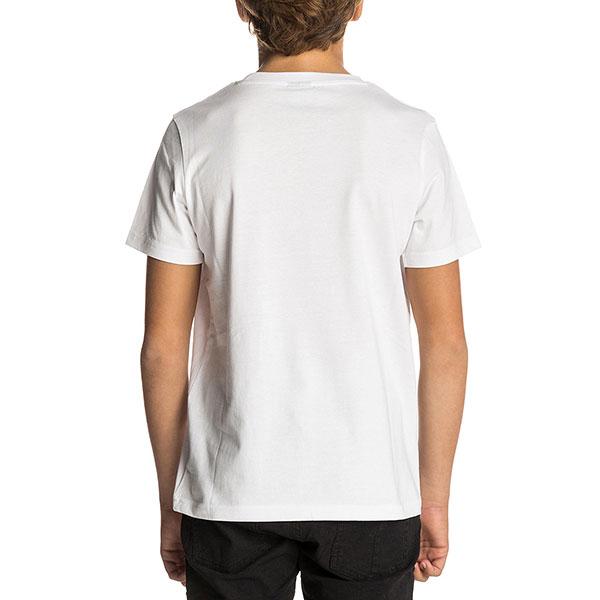 Футболка детская Rip Curl Undertow Logo Gradian Optical White