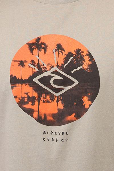 Футболка Rip Curl Tropic Sunset Flint Gray