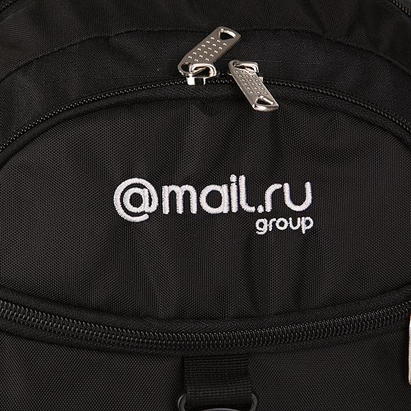 Рюкзак Mail.ru Trend Logo Черный