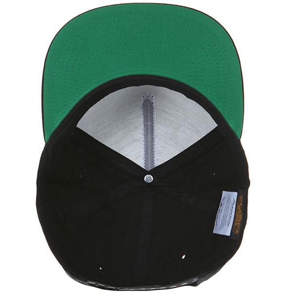 Бейсболка с прямым козырьком Transfer Classic Snapback 5 Panel Black