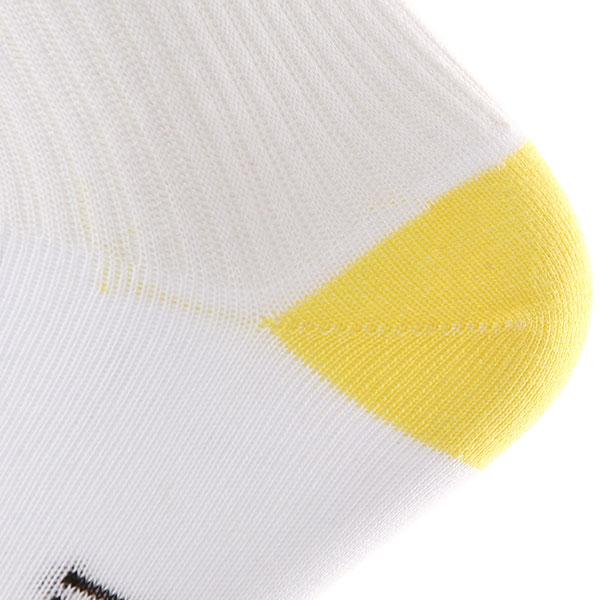 Носки средние Запорожец Утёнок Backside Белый/Желтый