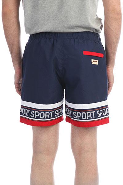 Шорты пляжные Запорожец Sport Stripe Navy