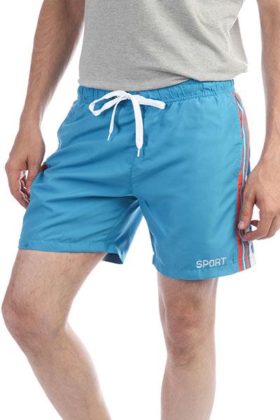 Шорты пляжные Запорожец Sport Stripe Turquoise
