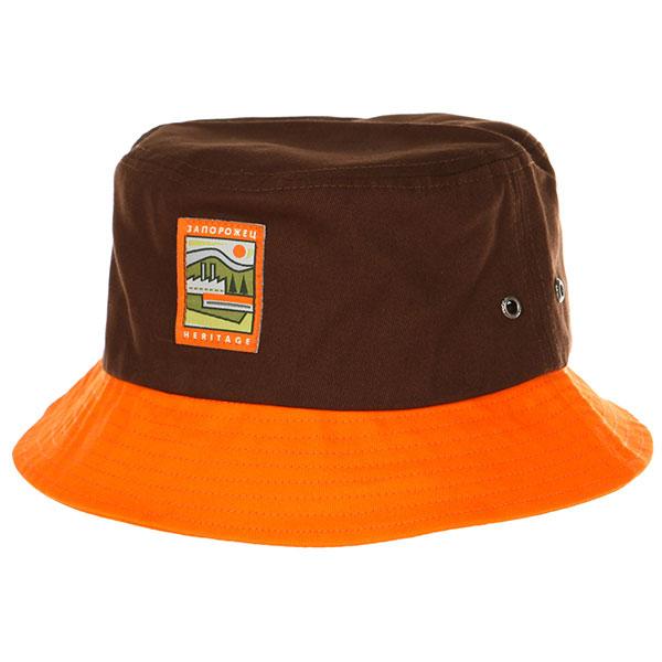 Панама Запорожец Fabrika Panama Brown/Orange