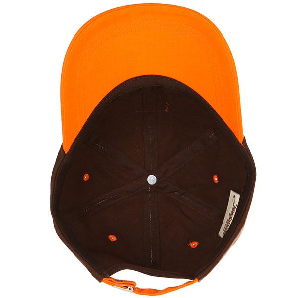 Бейсболка классическая Запорожец Classic Cap Brown/Orange