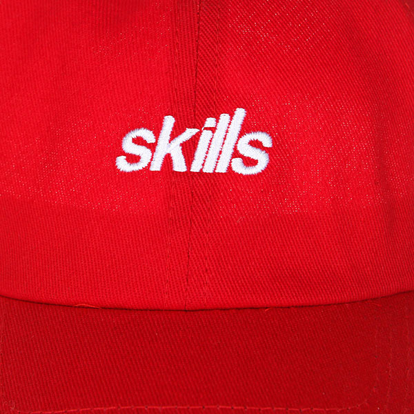 Бейсболка классическая Skills Fse-c2 Red