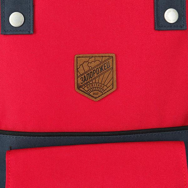 Рюкзак городской Запорожец Olimpiada 80 Small Red/Navy