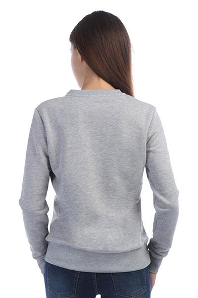 Свитшот женский VK.Com Серый