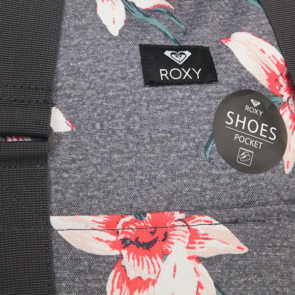 Сумка женская Roxy Feel Happy Charcoal Heather Flo
