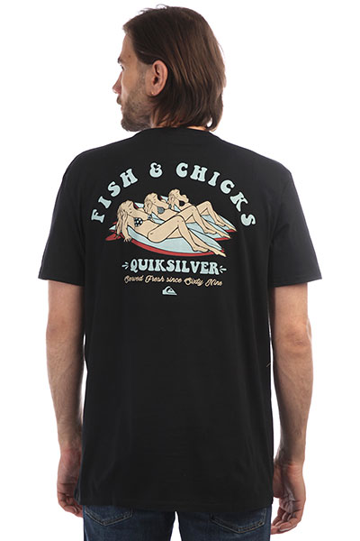 Футболка Quiksilver Fishandchickss Black