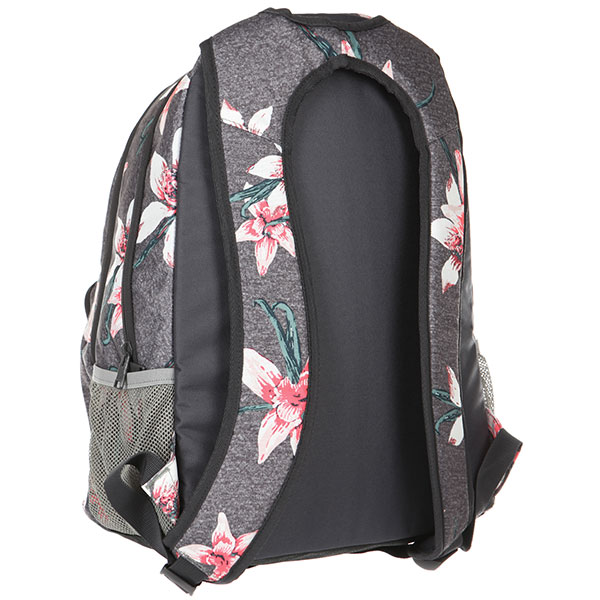 Рюкзак женский Roxy Shadow Swell Charcoal Heather Flo