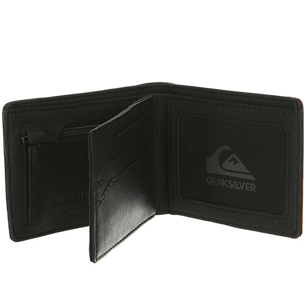 Кошелек Quiksilver Striker Tri Fol Black