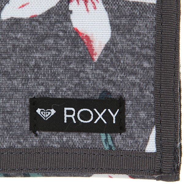Кошелек женский Roxy Small Beach 2 J Charcoal Heather Flo