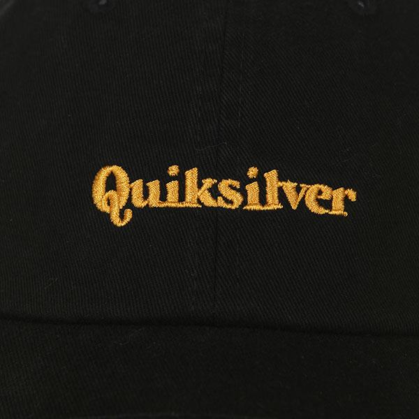 Бейсболка классическая Quiksilver Lawn Bowler Black