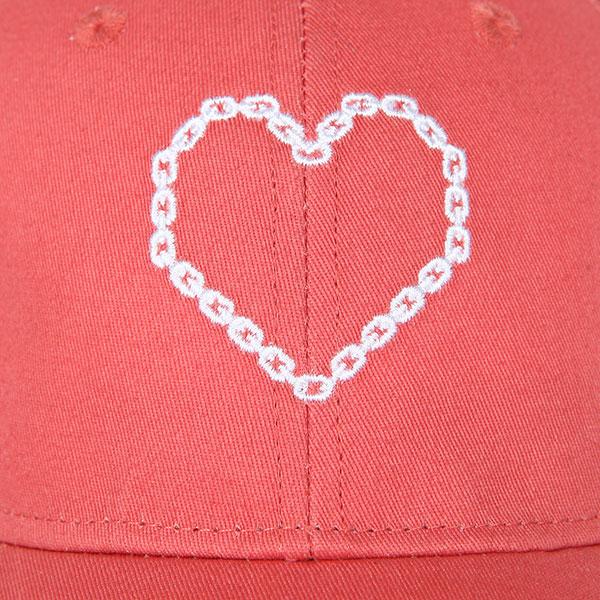 Бейсболка классическая женская TrueSpin True Love Red