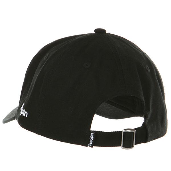 Бейсболка классическая TrueSpin Curved Rap Black