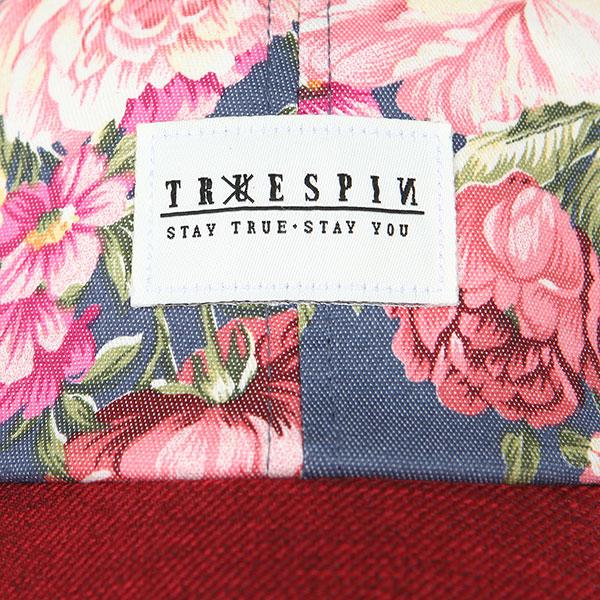 Бейсболка классическая женская TrueSpin Bloom Blue