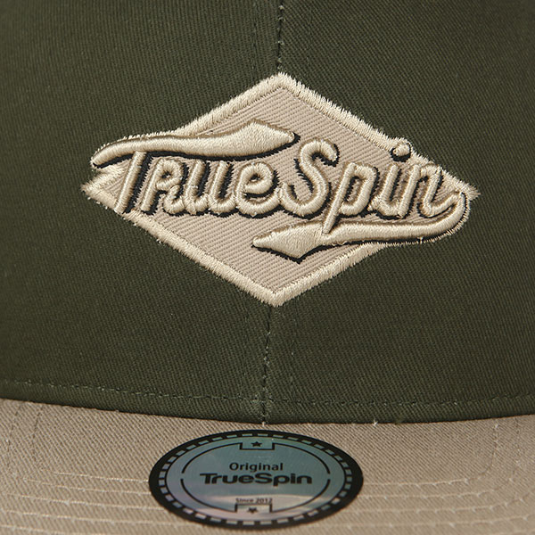 Бейсболка с прямым козырьком TrueSpin Ace Olive