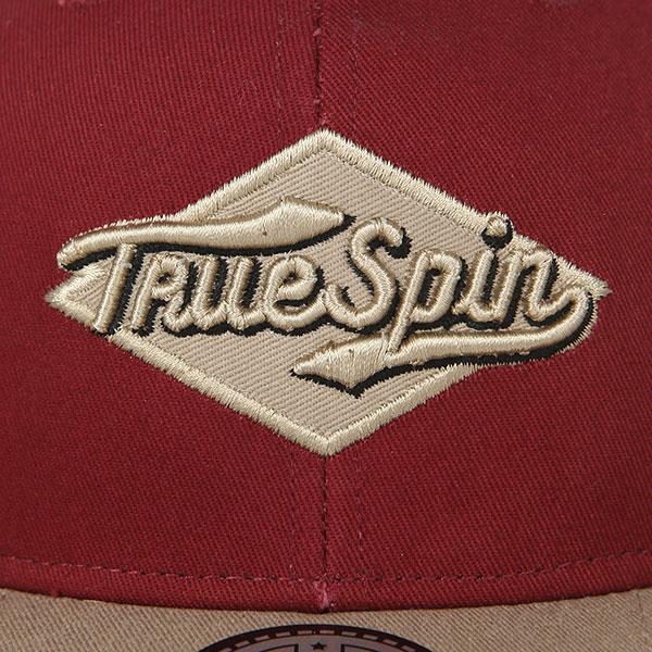 Бейсболка с прямым козырьком TrueSpin Ace Bordeaux