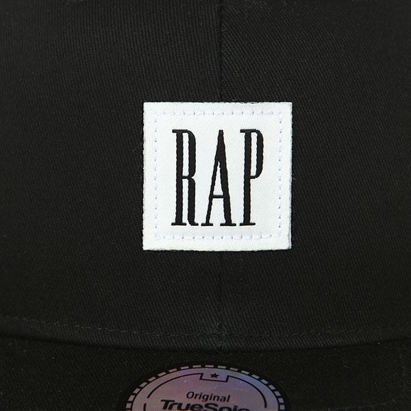 Бейсболка с прямым козырьком TrueSpin Rap Snap Black