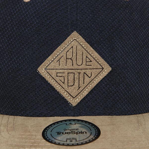Бейсболка с прямым козырьком TrueSpin Melange Taper Blue