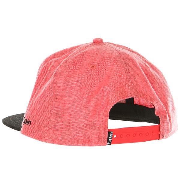 Бейсболка с прямым козырьком TrueSpin Kekino Red