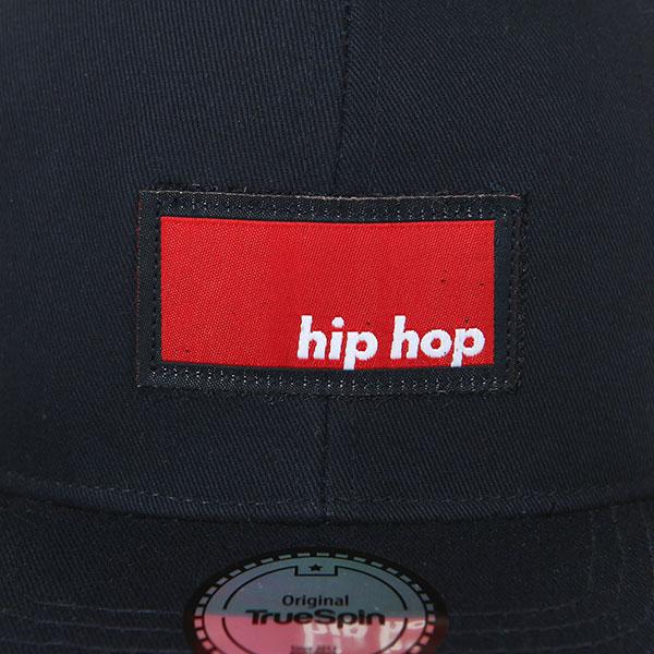 Бейсболка с прямым козырьком TrueSpin Hip Hop Snapback Navy