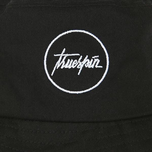 Панама TrueSpin Script Bucket Black